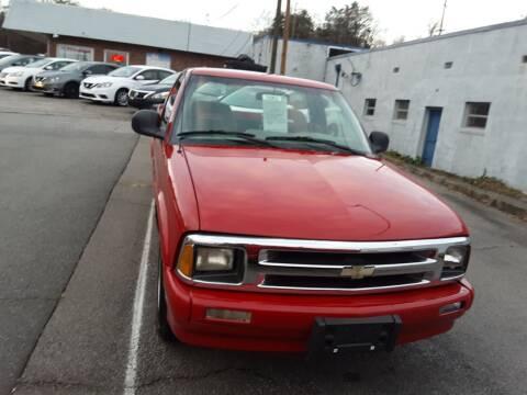 1995 Chevrolet S-10 for sale at Auto Villa in Danville VA