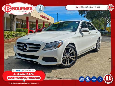 2016 Mercedes-Benz C-Class for sale at Bourne's Auto Center in Daytona Beach FL