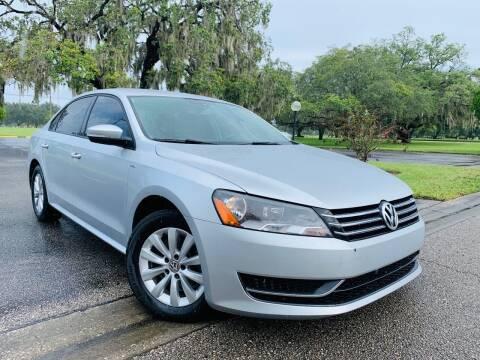 2015 Volkswagen Passat for sale at FLORIDA MIDO MOTORS INC in Tampa FL
