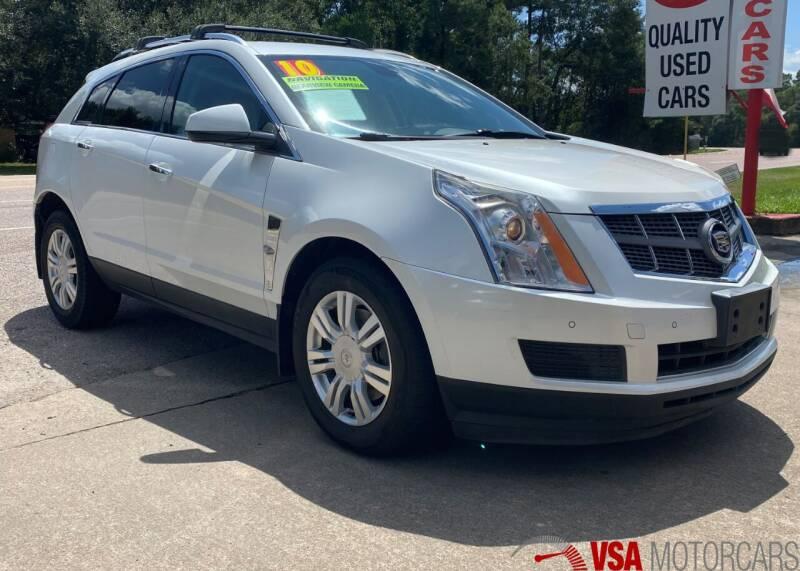 2010 Cadillac SRX for sale at VSA MotorCars in Cypress TX