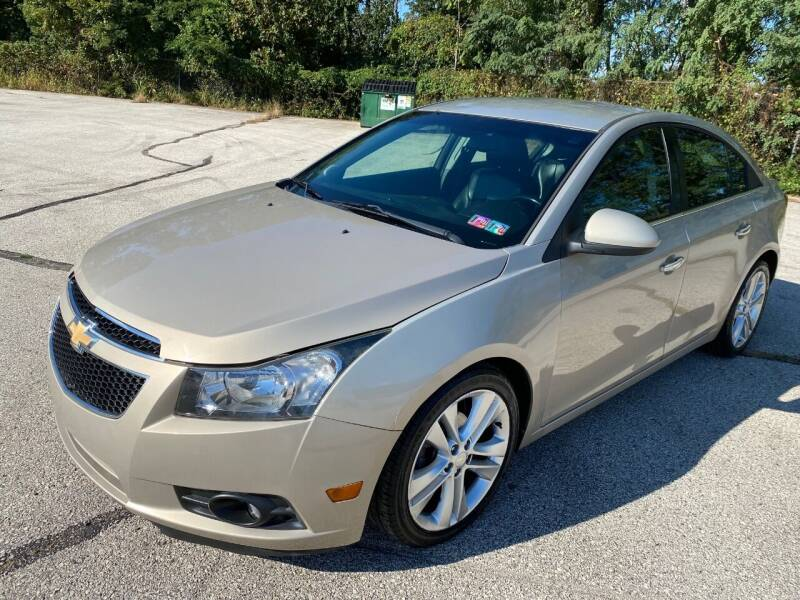 2012 Chevrolet Cruze for sale at Professionals Auto Sales in Philadelphia PA