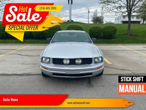 2007 Ford Mustang for sale at Auto Nova in St Louis MO