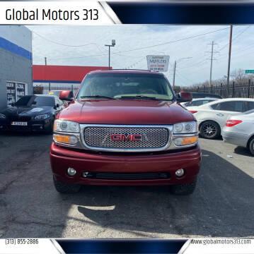 2002 GMC Yukon for sale at Global Motors 313 in Detroit MI