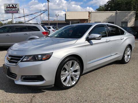 2014 Chevrolet Impala for sale at SKY AUTO SALES in Detroit MI