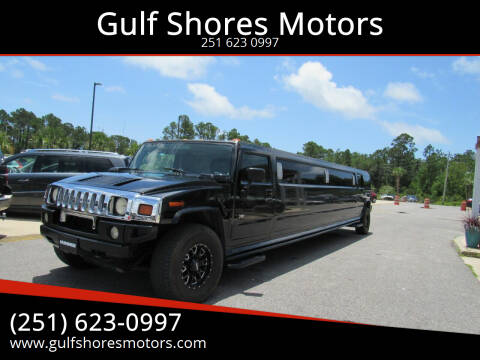 2004 HUMMER H2 for sale at Gulf Shores Motors in Gulf Shores AL