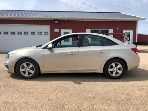 2016 Chevrolet Cruze Limited for sale at TnT Auto Plex in Platte SD
