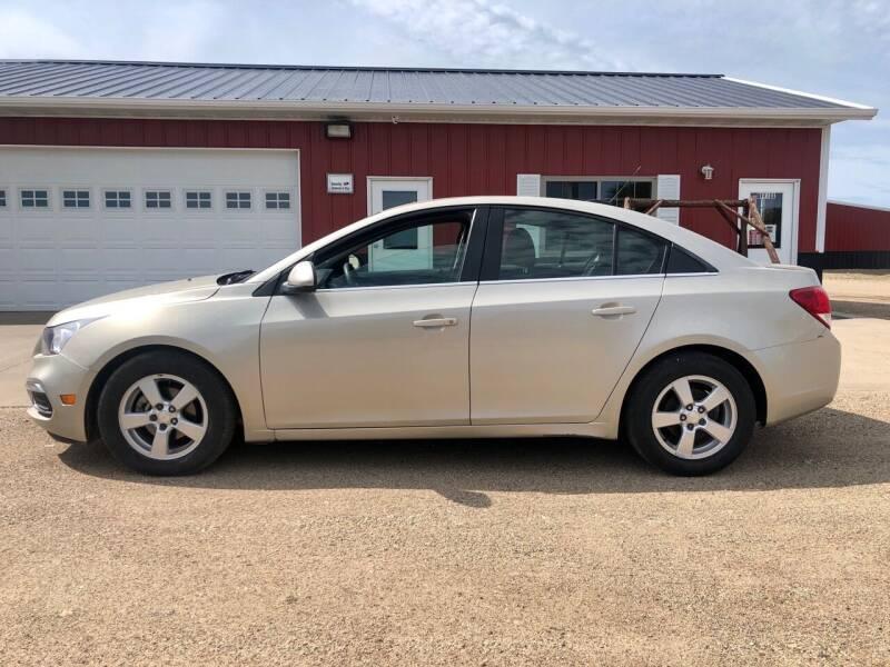 2016 Chevrolet Cruze Limited for sale at TnT Auto Plex in Platte SD