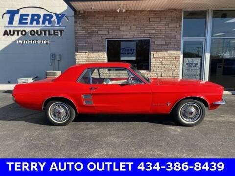 1967 Ford Mustang for sale at Terry Auto Outlet in Lynchburg VA