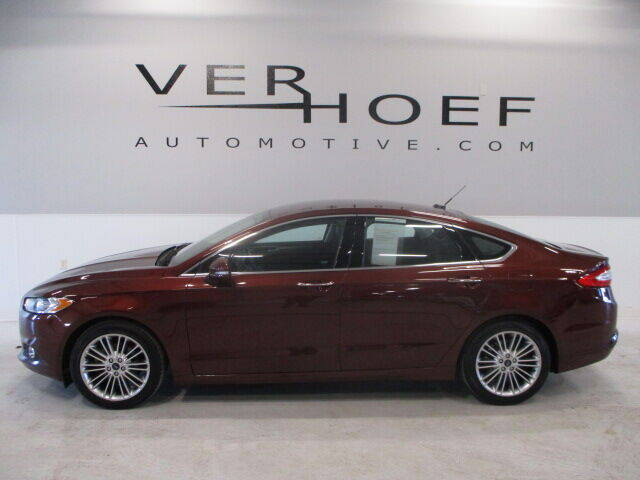 2015 Ford Fusion for sale at Ver Hoef Automotive Inc in Sioux Center IA