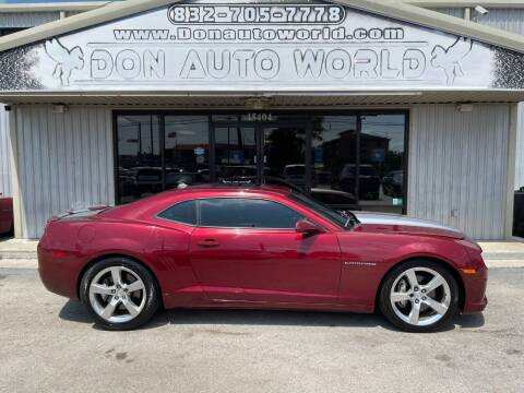 2010 Chevrolet Camaro for sale at Don Auto World in Houston TX