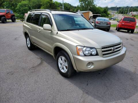 2001 Toyota Highlander for sale at DISCOUNT AUTO SALES in Johnson City TN