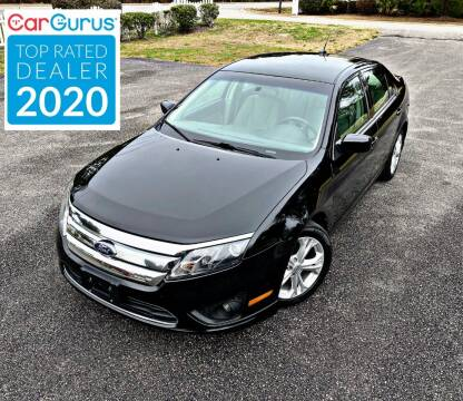 2012 Ford Fusion for sale at Brothers Auto Sales of Conway in Conway SC