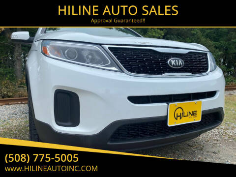 2015 Kia Sorento for sale at HILINE AUTO SALES in Hyannis MA