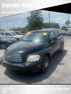 2008 Chevrolet HHR for sale at Supreme Motors in Tavares FL