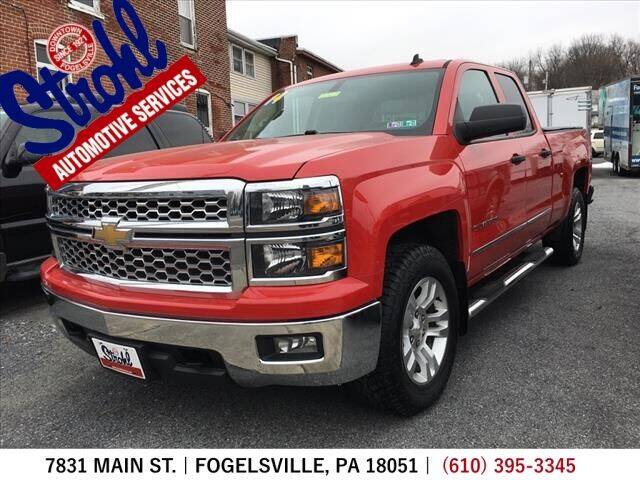 2014 Chevrolet Silverado 1500 for sale at Strohl Automotive Services in Fogelsville PA