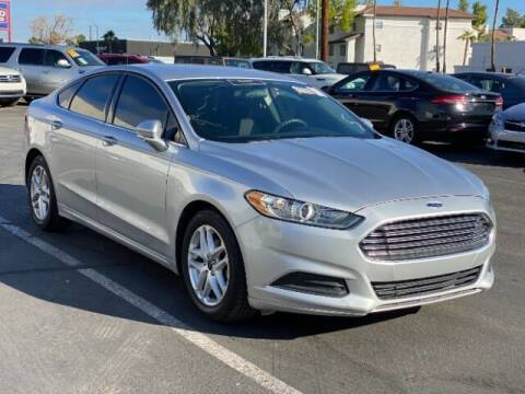 2016 Ford Fusion for sale at Brown & Brown Wholesale in Mesa AZ