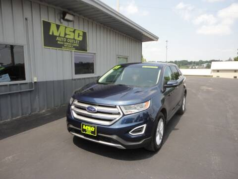 2017 Ford Edge for sale at Moss Service Center-MSC Auto Outlet in West Union IA