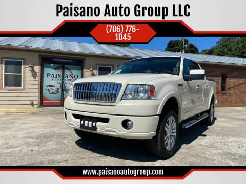 2007 Lincoln Mark LT for sale at Paisano Auto Group LLC in Cornelia GA