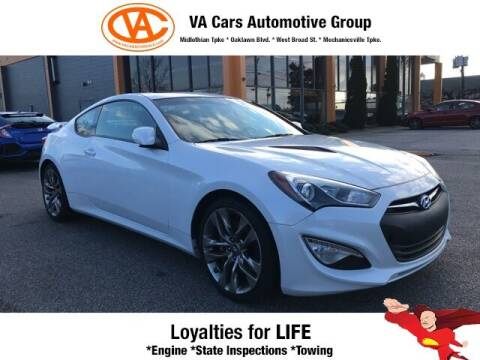 2016 Hyundai Genesis Coupe for sale at VA Cars Inc in Richmond VA