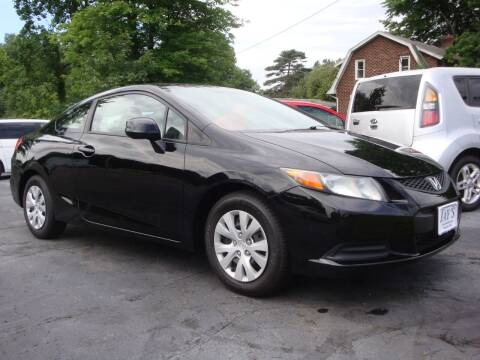 2012 Honda Civic for sale at Jay's Auto Sales Inc in Wadsworth OH