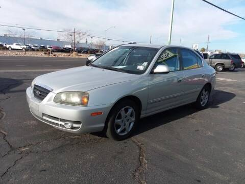 2004 Hyundai Elantra for sale at ALOHA USED CARS in Las Vegas NV
