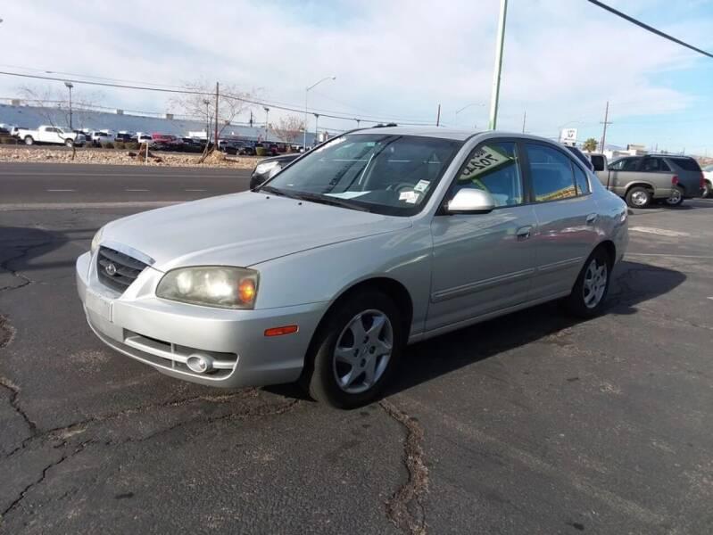 2004 Hyundai Elantra for sale at ALOHA USED CARS in Las Vegas NV