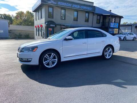 2015 Volkswagen Passat for sale at Sisson Pre-Owned in Uniontown PA