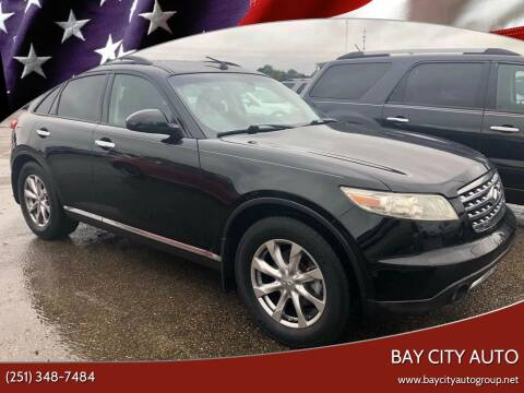 2008 Infiniti FX35 for sale at Bay City Auto's in Mobile AL
