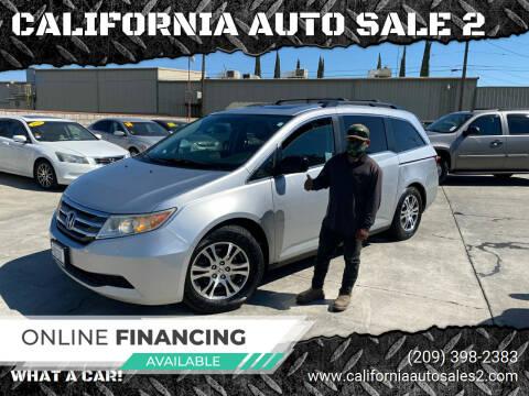 2011 Honda Odyssey for sale at CALIFORNIA AUTO SALE 2 in Livingston CA