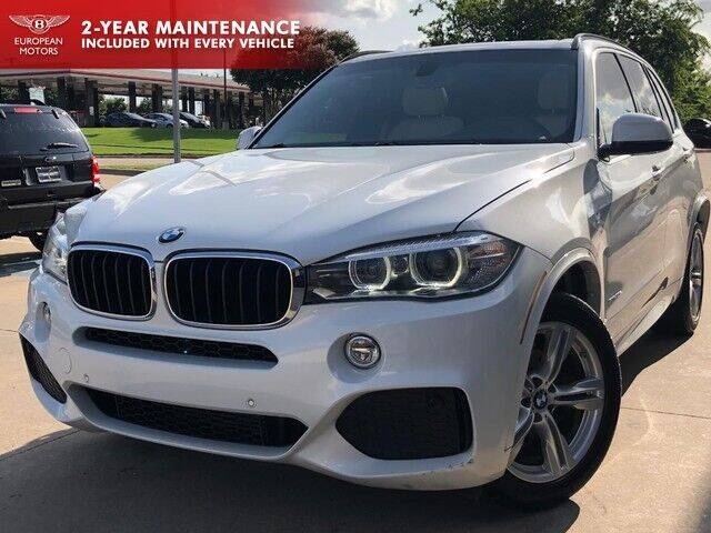 2014 BMW X5 for sale at European Motors Inc in Plano TX