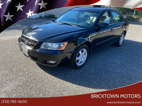 2006 Hyundai Sonata for sale at Bricktown Motors in Brick NJ