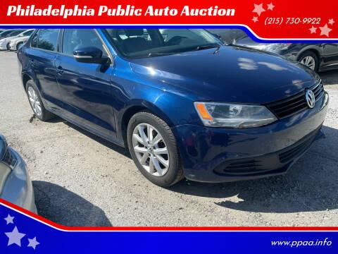 2011 Volkswagen Jetta for sale at Philadelphia Public Auto Auction in Philadelphia PA