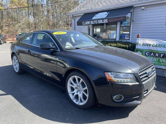 2012 Audi A5 for sale at Clear Auto Sales 2 in Dartmouth MA