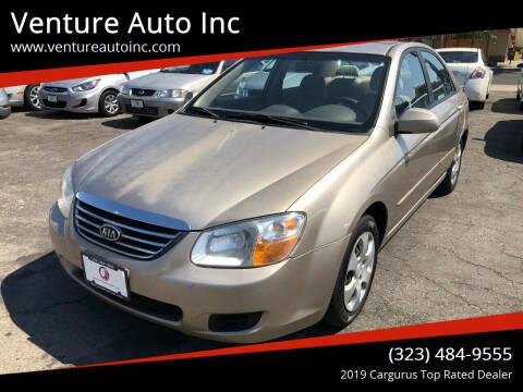 2008 Kia Spectra for sale at Venture Auto Inc in South Gate CA