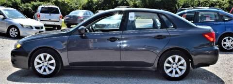 2008 Subaru Impreza for sale at PINNACLE ROAD AUTOMOTIVE LLC in Moraine OH