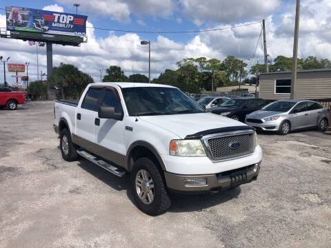 2005 Ford F-150 for sale at Friendly Finance Auto Sales in Port Richey FL
