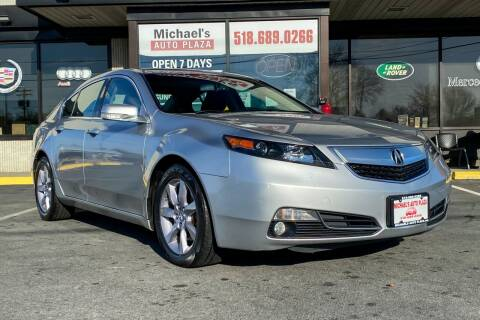 2013 Acura TL for sale at Michaels Auto Plaza in East Greenbush NY