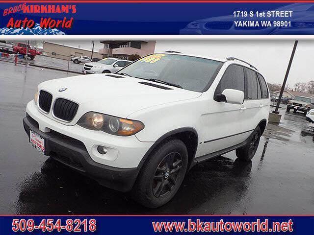2004 BMW X5 for sale at Bruce Kirkham Auto World in Yakima WA