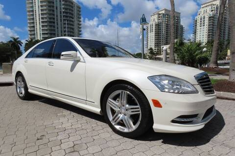 2013 Mercedes-Benz S-Class for sale at Choice Auto in Fort Lauderdale FL