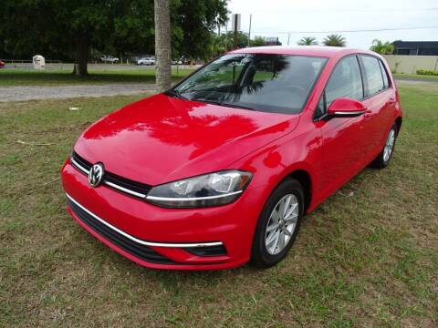 2018 Volkswagen Golf for sale at Park Avenue Motors in New Smyrna Beach FL