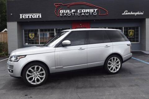 2014 Land Rover Range Rover for sale at Gulf Coast Exotic Auto in Biloxi MS