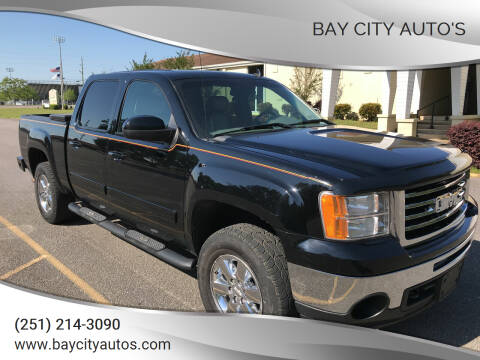 2010 GMC Sierra 1500 for sale at Bay City Auto's in Mobile AL