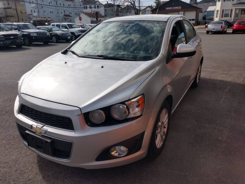 2013 Chevrolet Sonic for sale at A J Auto Sales in Fall River MA