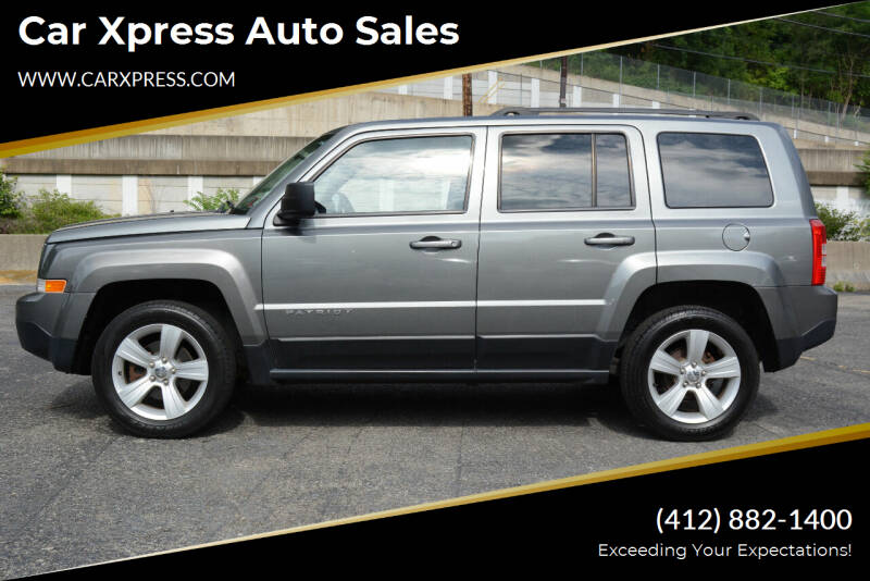 2013 Jeep Patriot for sale at Car Xpress Auto Sales in Pittsburgh PA