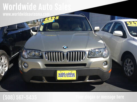 2007 BMW X3 for sale at Worldwide Auto Sales in Fall River MA