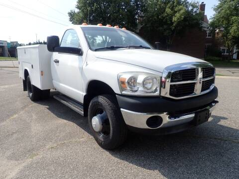 2007 Dodge Ram Chassis 3500 for sale at Marvel Automotive Inc. in Big Rapids MI