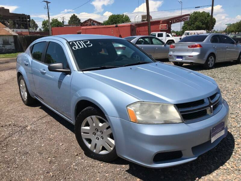 2013 Dodge Avenger for sale at 3-B Auto Sales in Aurora CO