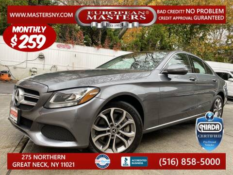 2017 Mercedes-Benz C-Class for sale at European Masters in Great Neck NY