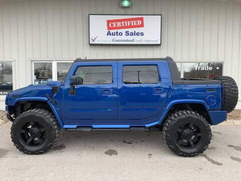 2006 HUMMER H2 SUT for sale at Certified Auto Sales in Des Moines IA
