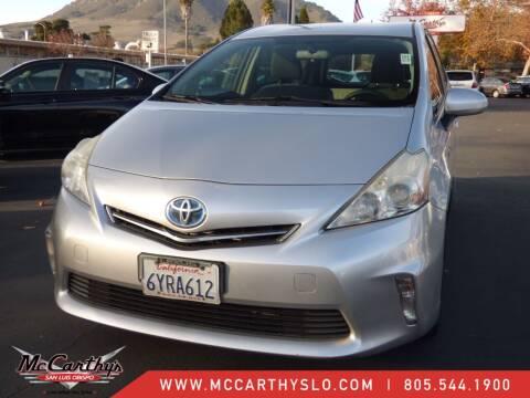 2013 Toyota Prius v for sale at McCarthy Wholesale in San Luis Obispo CA